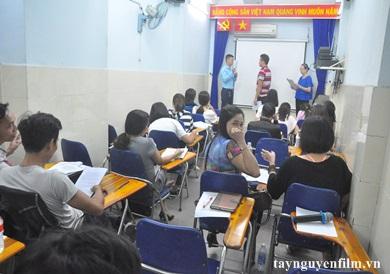 lớp học làm mc sự kiện