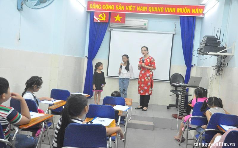 lớp học mc cho các bé