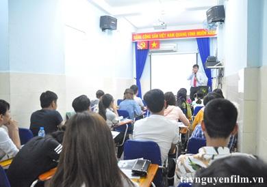 lớp dạy làm mc hội nghị